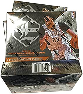 2015/16 Panini Limited NBA Basketball HOBBY box (5 cards)