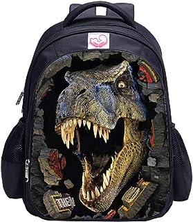 MATMO - Mochila de dinosaurio para niños, mochila escolar