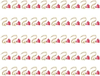 amleso 車用芳香剤 香水瓶 空のボトル ルームフレグランス 室内装飾 吊り飾り ペンダント 芳香剤の瓶 50個パック