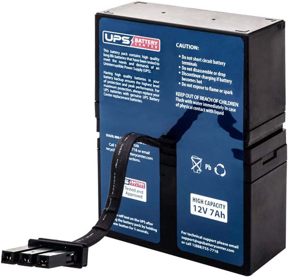 APC Back UPS RS 800 BR800 Compatible Battery Pack by UPSBatteryCenter