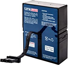 RBC32 - New Battery Pack for APC Back-UPS RS 800 BR800-IN - Compatible Replacement by UPSBatteryCenter