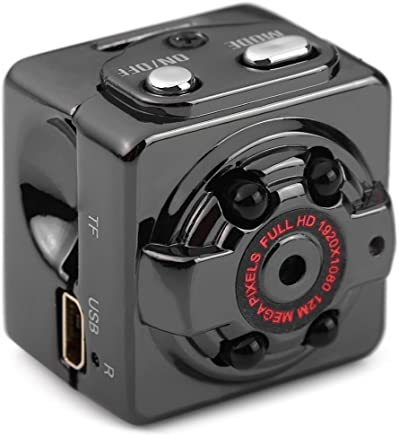 econoLED Mini Camera SQ8 Mini DV Camera 1080P Full HD Car DVR Recorder Motion Wireless Aluminum