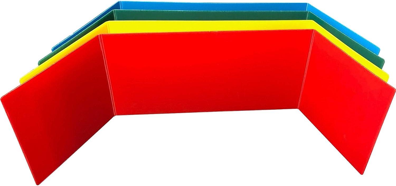 Flipside Tri-fold StudyCarrel Study Carrel x Assorted Ranking TOP3 Free shipping on posting reviews 12 46.5