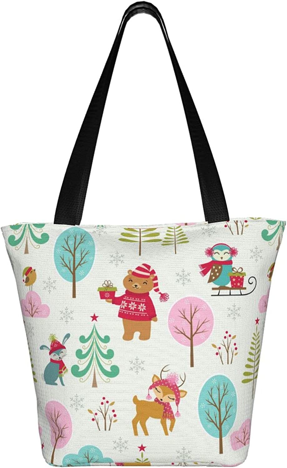 Cenken Large Tote Bag With Wild Women 2021 spring and summer new Print Animals Sh And Gifts Industry No. 1