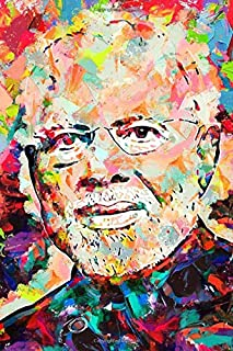 Narendra Modi Journal: Famous People Notebook With 120 Lined Pages, Legendary Celebrities, Actors, Actress, Singers, Write...