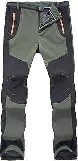 LY4U Pantalones de Senderismo al Aire Libre para Mujer Pantalones de Escalada para Caminar de Secado rápido, Ligeros y Gru...
