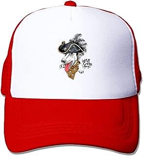 Aiguan Creative Dog Sun Protection Adjustable Caps Quick Dry Mesh Hat Black