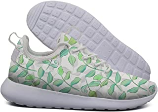 Fusion Exotic Tropical Palm Lightweight Running Shoes for Women Sneaker Sport Shock Absorbing