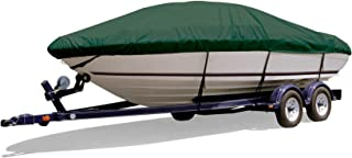 Survivor Marine Products Cover, V-Hull Style Cuddy Cabin Boat, Outboard Engine