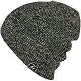 Koloa Surf Co. Original Soft & Cozy Beanies - Grey/White/Black Heathered