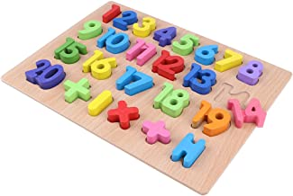 Wooden Colorful Numbers Blocks 1~20 Arithmetical Puzzle Board Kids Children Toy Math Educational Learning Early Developmental Game