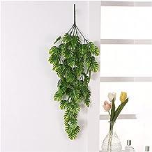 Kunstmatige schildpad blad plant wijnstok decoratie kunstbloem klimop hangende krans bruiloft thuis wanddecoratie kunstmat...