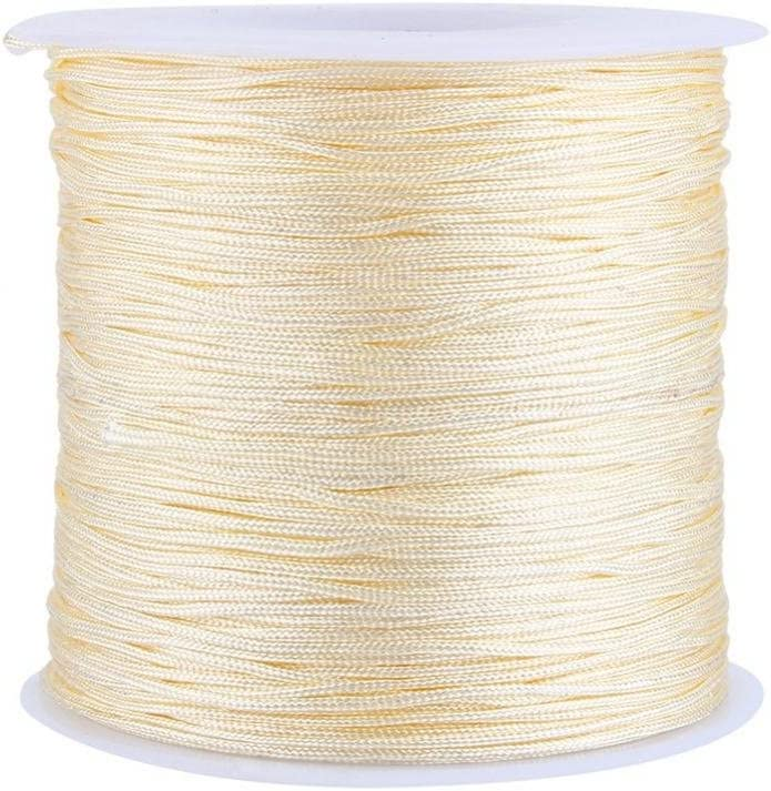 Nylon Cheap SALE Start Beading String Knotting Cheap mail order shopping Cord Mult-use 100M 0.8mm x