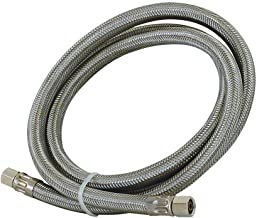 Eastman 48392 Stainless Steel Icemaker Connector 1/4