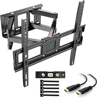PERLESMITH Soporte de Pared para televisor de 32 a 55 Pulgadas (inclinable, Giratorio, para televisores Planos o monitores...
