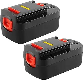 Joiry 18V Battery for Black and Decker 2 Packs 3.5A Ni-MH Replacement A18 HPB18 HPB18-OPE A1718 Firestorm FS180BX FS18BX FS18FL FSB18 244760-00