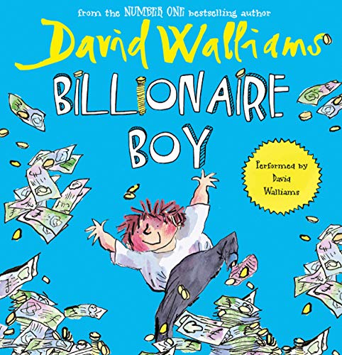 Billionaire Boy audiobook cover art
