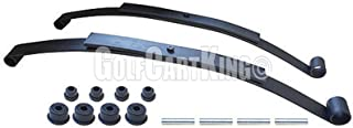 EZGO RXV Golf Cart Rear Leaf Spring Kit Dual Action Heavy...