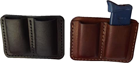 custom leather shooting pouches