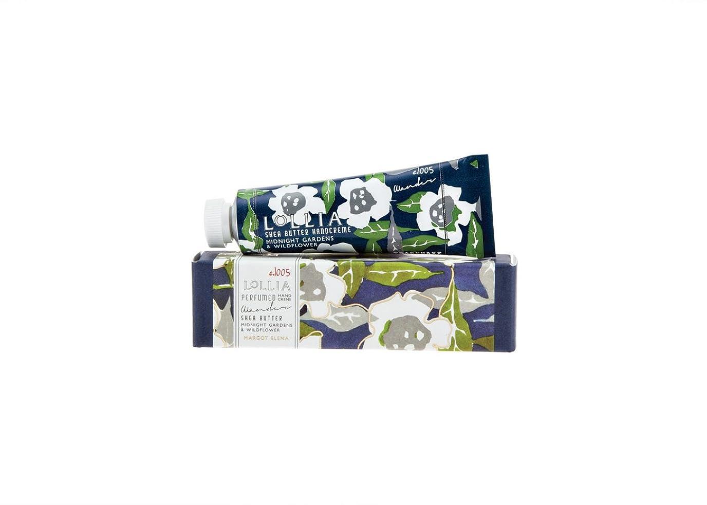解説プロテスタントフレキシブルロリア(LoLLIA) ミニハンドクリーム Wander 9.3g(手肌用保湿クリーム ナイトブルーミングジャスミンとサイプレスの香り)