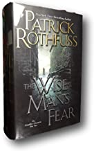 Rare The Wise Man's Fear SIGNED by PATRICK ROTHFUSS New Hardback Kingkiller Book 2