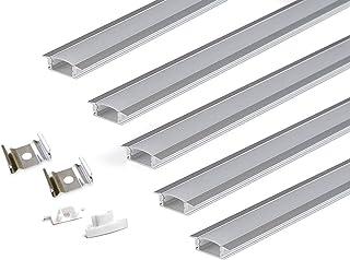 PROFILO AT IN ALLUMINIO DA 1 METRO IN VARIE MISURE 1000 X 15 X 15 X 1 mm, ARGENTO