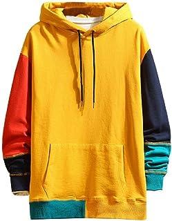 New Contrast Hip Hop Street Sportswear Sweatshirt Skateboard Men's Hoodie Men's Hoodie Streetwear Hoodie Clothing