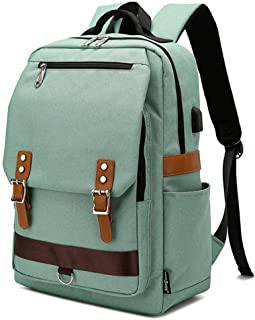LPFMM Rucksack, Outdoor Waterproof Large Capacity Retro Travel Backpack - Backpack (Color : Green)