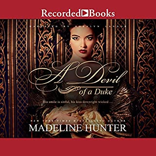 A Devil of a Duke audiobook cover art
