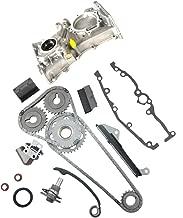 MOCA Engine Timing Chain Kit & Oil Pump for 1991-1999 Nissan Sentra 200SX NX 1.6L L4 DOHC 16V GA16DE Code # 9-4174S