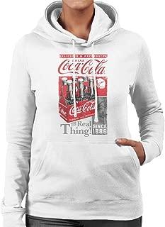 Coca-Cola Retro Bottle Crate Women's Hooded Sweatshirt