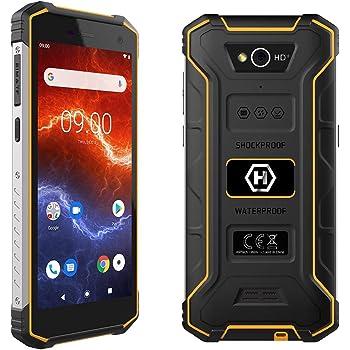 """Hammer Energy 2 5,5"""" HD+ IPS, Mega batería de 5000 mAh con Carga rápida, IP68, IK05, LTE, Smartphone a Prueba de Agua, Cuatro nucleos 2Ghz, 3GB + 32GB, NFC, Dual SIM: Amazon.es: Electrónica"""