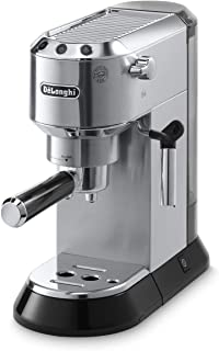 Delonghi EC680M Dedica Manual 15-Bar Pump Espresso Machine - Stainless Steel
