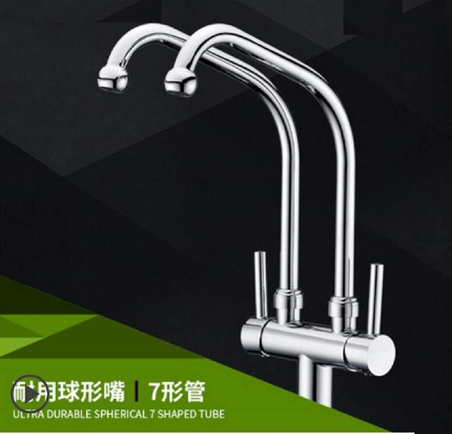 Kitchen Tap Washing Basin Hot and Cold Water Purifier Dual Outlet Washbowl Washer Faucet Kitchen Taps Kitchen Sink Mixer Taps Basin Tap