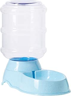 Mumoo Bear Pet Waterer Feeder,Pet Automatic Waterer,Dog Water Dispenser,3.8L Cat Dog Water Dispenser for Cat and Small or ...