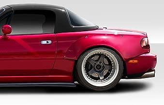 Extreme Dimensions Duraflex Replacement for 1990-1997 Mazda Miata Circuit Rear Fender Flares - 2 Piece