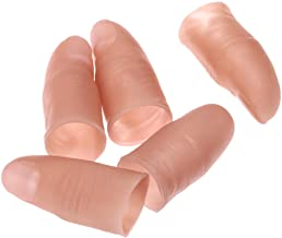 dophee Finger Magic Trick Fipe Fake Soft Ship نکته نزدیک بستن صحنه نمایش اسباب بازی شوخی پروانه (5 عدد)