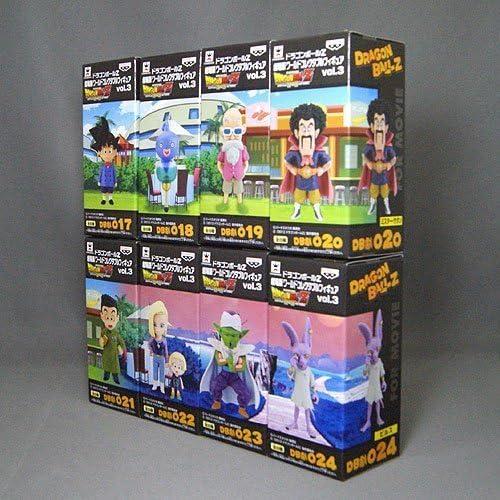 Dragon Ball Z Movie World Collectable figures vol.3 all eight set Banpresto prize by Banpresto