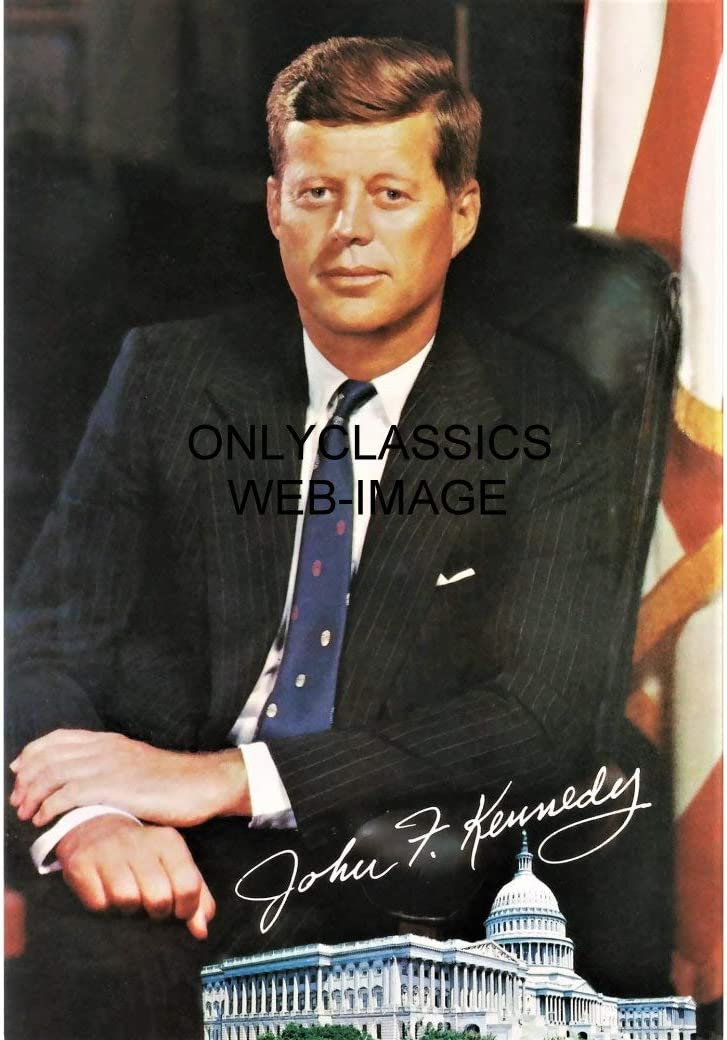 OnlyClassics President John National products F Kennedy Max 70% OFF 8X Facsimile JFK Autograph