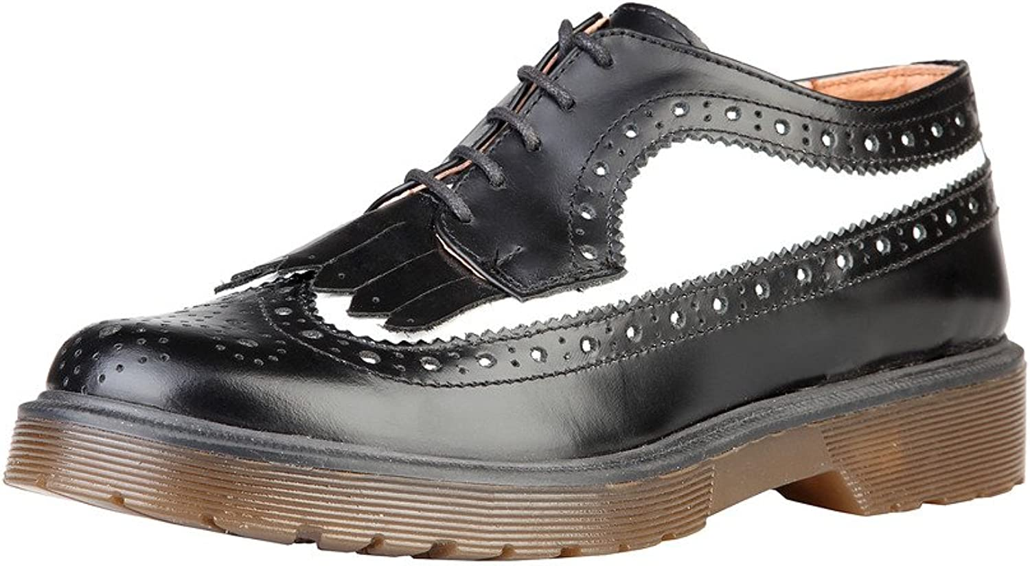 ANA LUBLIN Womens Ladies Ylva Genuine Leather Lace Up Brogues