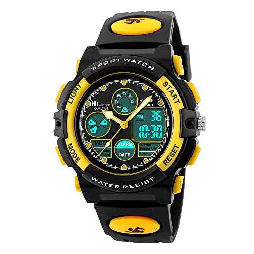 HIwatch Kids Watches Boys Girls Waterproof Sports Digital Wrist Watch For Youth