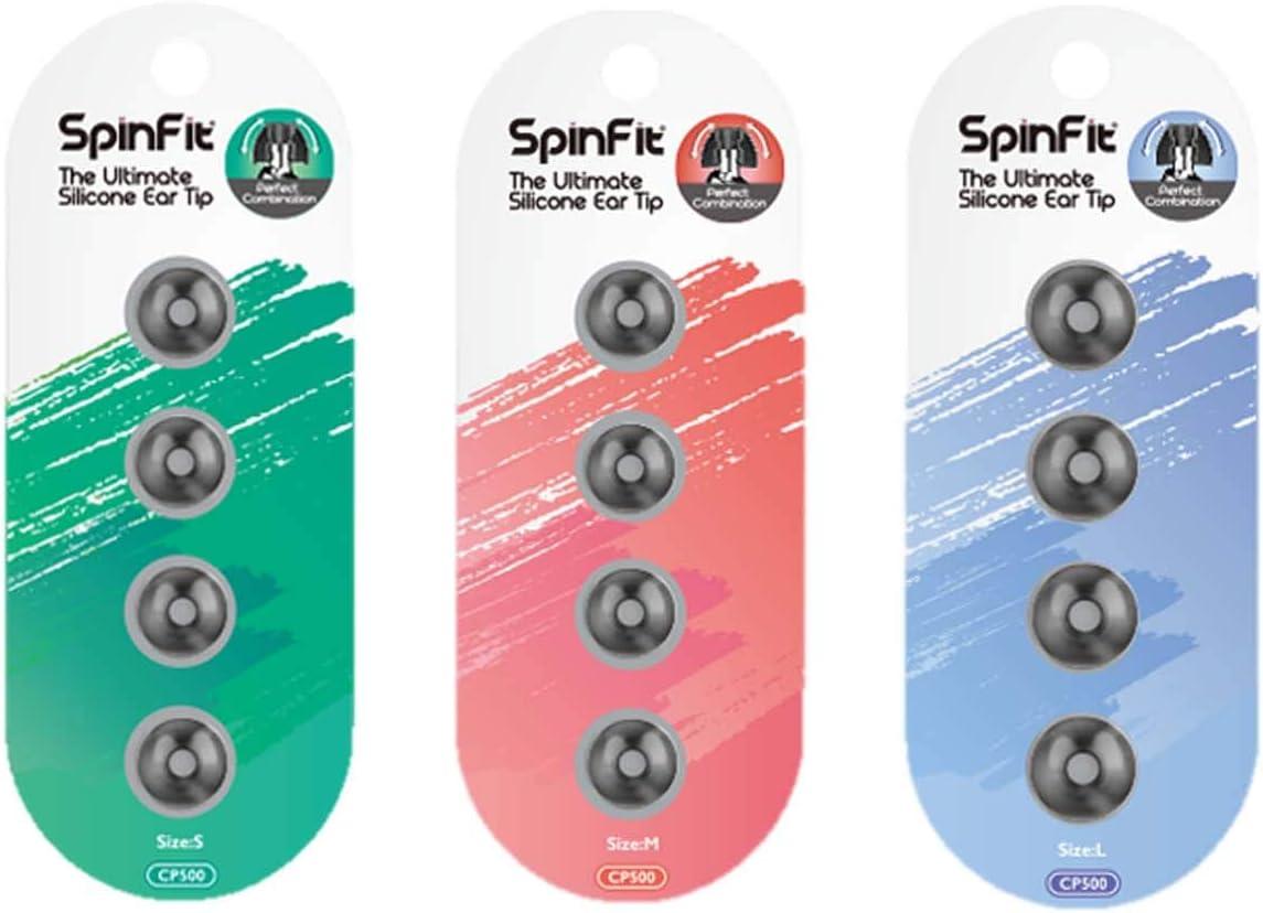 Spinfit Cp500 Patented Silicone Earplugs Medium Elektronik