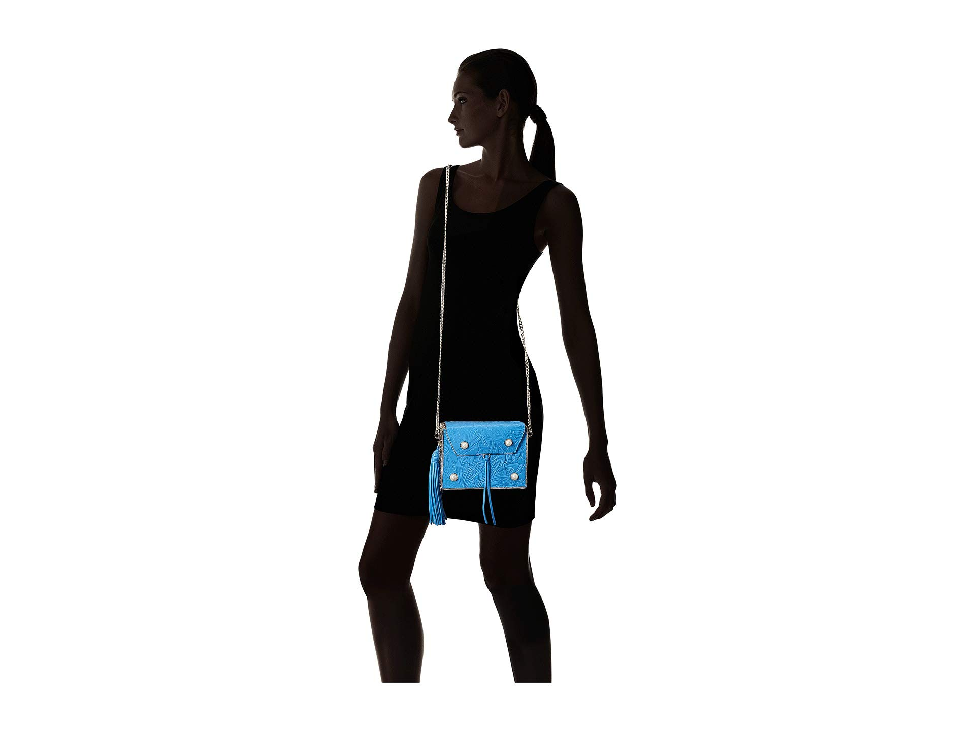 Sam Edelman Gianna Blue Handbag Iron Mini Boxed SSrxdqF