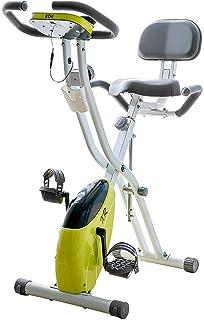 BTM エアロフィットネスバイク 静音 1年安心保証 折りたたみ機能付き 背もたれ付き 8/10段階負荷調節