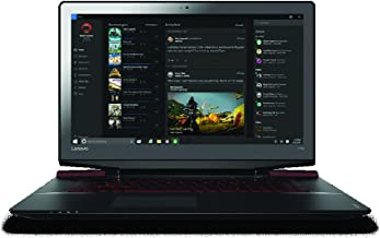 "Lenovo ideaPad Y700 17.3"" Full HD Gaming Notebook Computer, Intel Core i7-6700HQ 2.6GHz, 16GB RAM, 1TB HDD + 128GB SSD, NVIDIA GeForce GTX 960M GDDR5 4GB, Windows 10, Black"