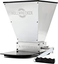 Northern Brewer – Hullwrecker 2-Roller Grain Mill with Metal Base and Handle
