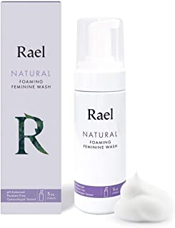 Rael Natural Feminine Cleansing Wash - Foaming Wash, pH-balanced, Sensitive Skin, Light&Fresh Scent, Daily Cleansing use, Natural ingredients (5oz, 1Pack)