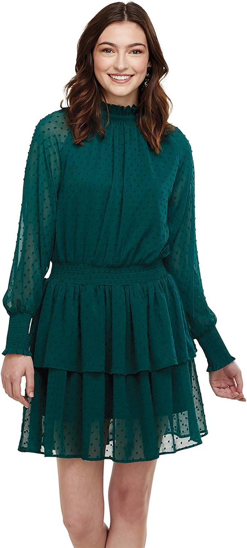 Mud Pie Women's Long Sleeve Dress