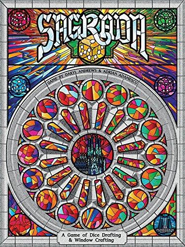 Flood Gate Games - Gioco da tavola Sagrada, Multicolore