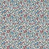 Textiles français Baumwollstoff   La Fleur de la liberté